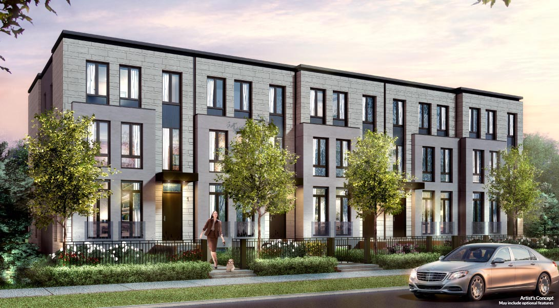 Estates on Bayview, Luxury, townhomes, toronto, Bayview, Village, condos, buy, new